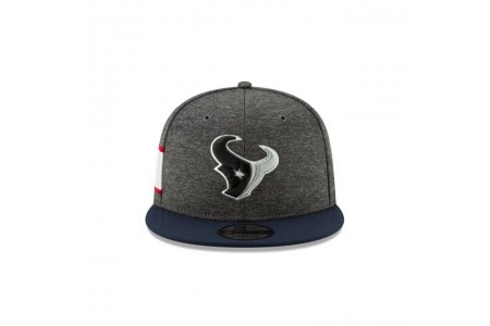 HOUSTON TEXANS GRAPHITE SIDELINE HOME 9FIFTY SNAPBACK