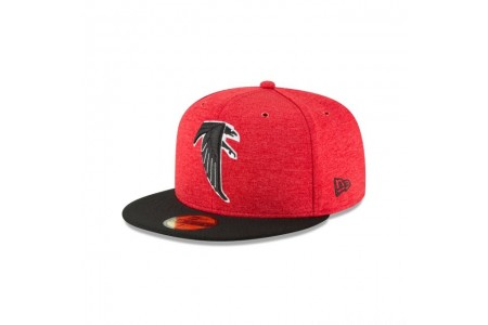 ATLANTA FALCONS CLASSIC LOGO SIDELINE HOME 59FIFTY FITTED - Sale