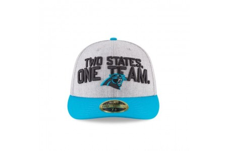CAROLINA PANTHERS NFL DRAFT ON STAGE LOW PROFILE 59FIFTY FITTED