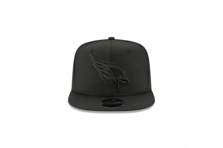 ARIZONA CARDINALS BLACK ON BLACK HIGH CROWN 9FIFTY SNAPBACK - Sale