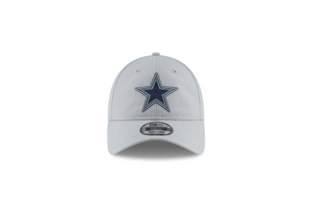 DALLAS COWBOYS NFL TRAINING GREY 9TWENTY ADJUSTABLE - Sale