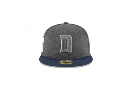 DALLAS COWBOYS GRAPHITE SIDELINE HOME 59FIFTY FITTED