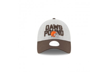 CLEVELAND BROWNS WOMENS NFL DRAFT 9TWENTY ADJUSTABLE