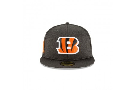 CINCINNATI BENGALS OFFICIAL SIDELINE HOME 59FIFTY FITTED