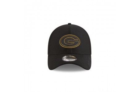 GREEN BAY PACKERS NFL TRAINING BLACK 39THIRTY STRETCH FIT