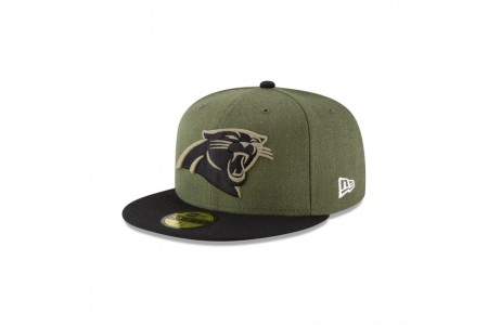 Black Friday Sale - CAROLINA PANTHERS SALUTE TO SERVICE KIDS 59FIFTY FITTED