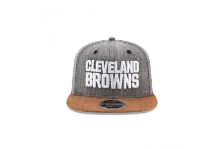 CLEVELAND BROWNS BUFFALO PLAID 9FIFTY SNAPBACK