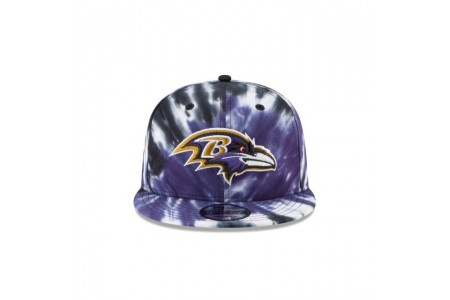 BALTIMORE RAVENS MARBLED  9FIFTY SNAPBACK - Sale