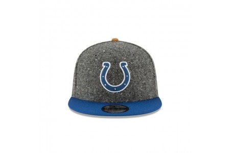 INDIANAPOLIS COLTS SUEDE ON TWEED 9FIFTY STRAPBACK