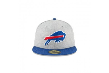 BUFFALO BILLS HEATHER CRISP 59FIFTY FITTED