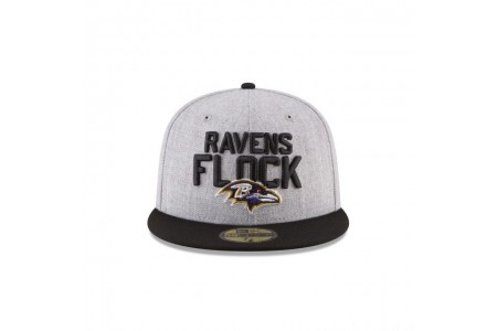 BALTIMORE RAVENS KIDS NFL DRAFT 59FIFTY FITTED
