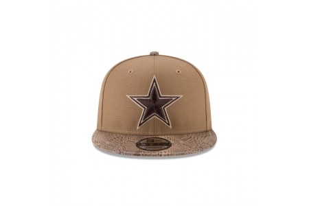 Black Friday Sale - DALLAS COWBOYS SNAKESKIN KHAKI 9FIFTY SNAPBACK