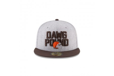 CLEVELAND BROWNS KIDS NFL DRAFT 59FIFTY FITTED - Sale