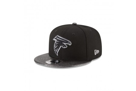 Black Friday Sale - ATLANTA FALCONS SNAKESKIN BLACK 9FIFTY SNAPBACK