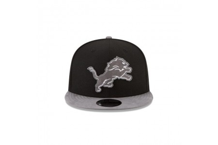 DETROIT LIONS TONAL CHOICE BLACK 9FIFTY SNAPBACK