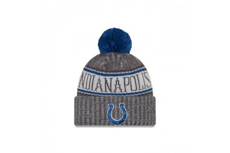 INDIANAPOLIS COLTS GRAPHITE COLD WEATHER SPORT KNIT
