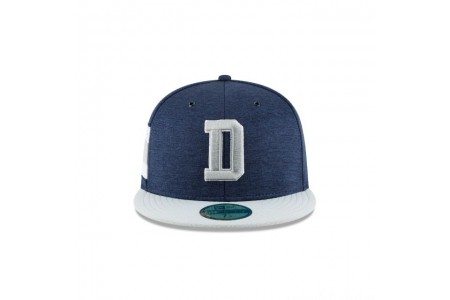 DALLAS COWBOYS OFFICIAL SIDELINE HOME 59FIFTY FITTED