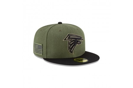 Black Friday Sale - ATLANTA FALCONS SALUTE TO SERVICE KIDS 59FIFTY FITTED