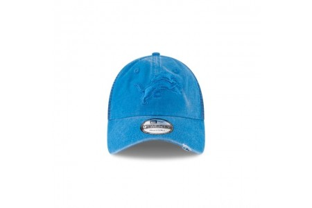 DETROIT LIONS TONAL WASHED TRUCKER 9TWENTY ADJUSTABLE
