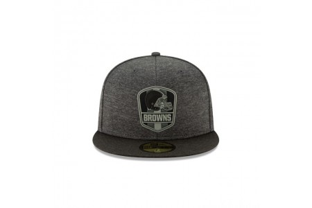 Black Friday Sale - CLEVELAND BROWNS NFL SIDELINE ROAD 59FIFTY FITTED