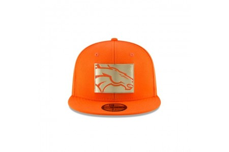 DENVER BRONCOS GOLD STATED 59FIFTY FITTED