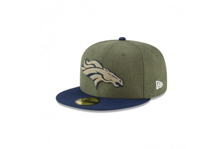 DENVER BRONCOS SALUTE TO SERVICE 59FIFTY FITTED