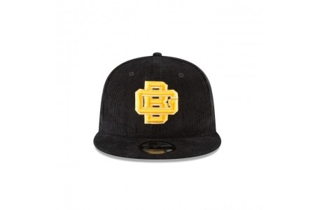 GREEN BAY PACKERS BLACK CORDUROY 9FIFTY SNAPBACK