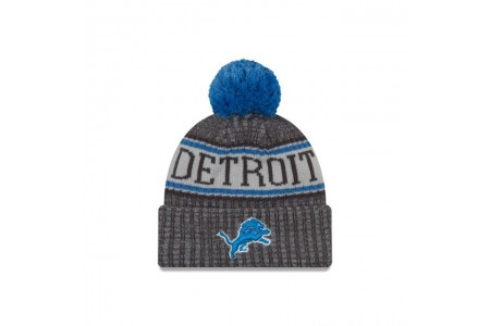 DETROIT LIONS GRAPHITE COLD WEATHER SPORT KNIT