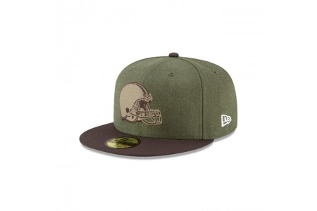 CLEVELAND BROWNS SALUTE TO SERVICE KIDS 59FIFTY FITTED