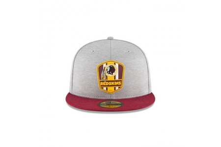 Black Friday Sale - WASHINGTON REDSKINS OFFICIAL SIDELINE ROAD KIDS 59FIFTY FITTED