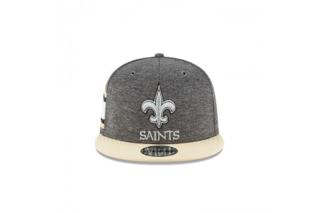 NEW ORLEANS SAINTS GRAPHITE SIDELINE HOME 9FIFTY SNAPBACK - Sale