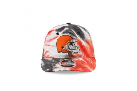 CLEVELAND BROWNS MARBLED RETRO CROWN 9FIFTY SNAPBACK
