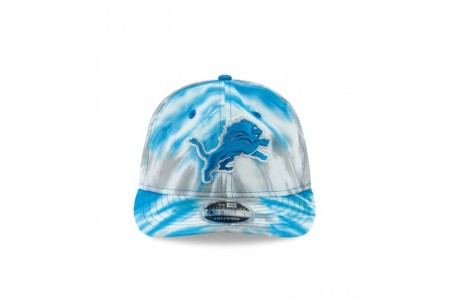 DETROIT LIONS MARBLED RETRO CROWN 9FIFTY SNAPBACK