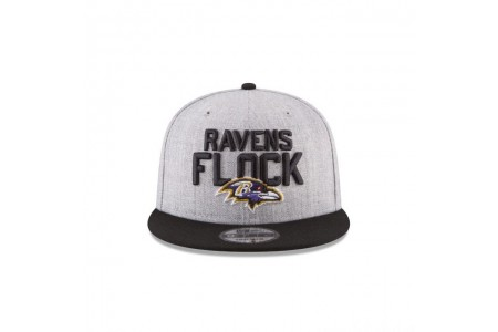 BALTIMORE RAVENS KIDS NFL DRAFT 9FIFTY SNAPBACK