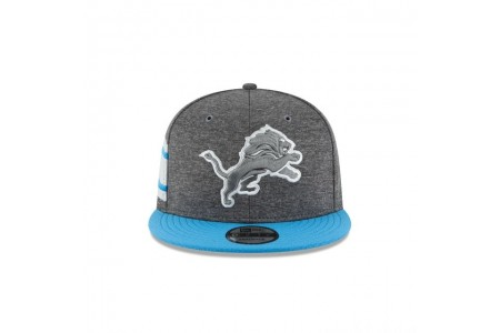 DETROIT LIONS GRAPHITE SIDELINE HOME 9FIFTY SNAPBACK - Sale