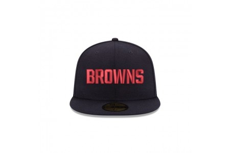 Black Friday Sale - CLEVELAND BROWNS CRAFTED IN THE USA 59FIFTY FITTED