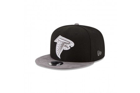 ATLANTA FALCONS TONAL CHOICE BLACK 9FIFTY SNAPBACK - Sale