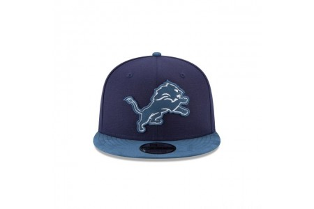 DETROIT LIONS TONAL CHOICE NAVY 9FIFTY SNAPBACK
