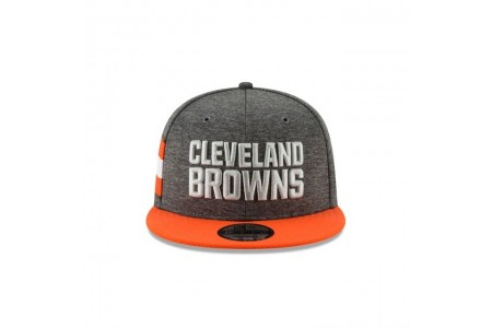 CLEVELAND BROWNS GRAPHITE SIDELINE HOME 9FIFTY SNAPBACK