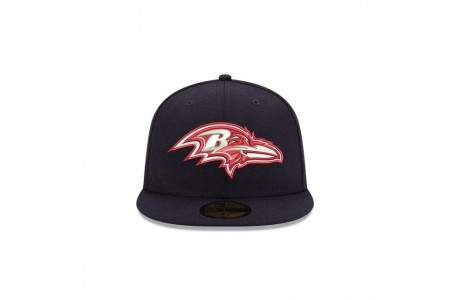 BALTIMORE RAVENS CRAFTED IN THE USA 59FIFTY FITTED