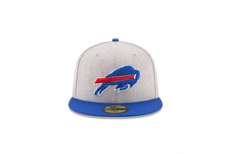 KIDS BUFFALO BILLS HEATHER ACTION 59FIFTY FITTED