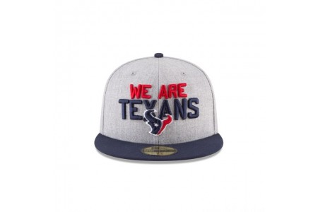 HOUSTON TEXANS NFL DRAFT 59FIFTY FITTED