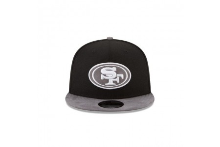 SAN FRANCISCO 49ERS TONAL CHOICE BLACK 9FIFTY SNAPBACK - Sale