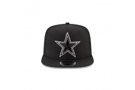 Black Friday Sale - DALLAS COWBOYS BLACK AND WHITE HIGH CROWN 9FIFTY SNAPBACK