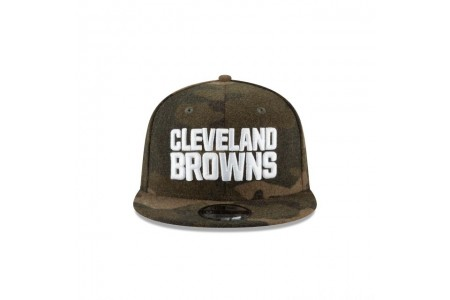 Black Friday Sale - CLEVELAND BROWNS NFL CAMO MELTON 9FIFTY SNAPBACK