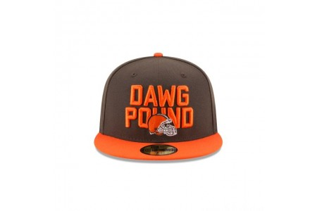 Black Friday Sale - CLEVELAND BROWNS SPOTLIGHT 59FIFTY FITTED