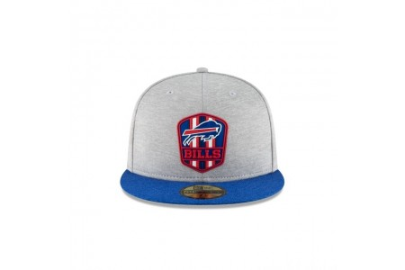 BUFFALO BILLS OFFICIAL SIDELINE ROAD 59FIFTY FITTED