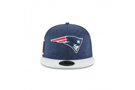 NEW ENGLAND PATRIOTS OFFICIAL SIDELINE HOME 59FIFTY FITTED - Sale