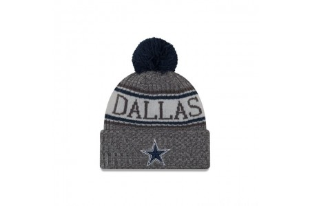 DALLAS COWBOYS GRAPHITE COLD WEATHER SPORT KNIT