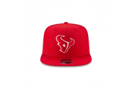 HOUSTON TEXANS SCARLET HIGH CROWN 9FIFTY SNAPBACK